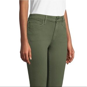 Joe's olive skinny jeans